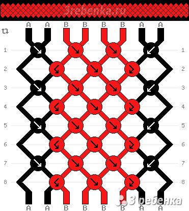 Схема фенечки 22250