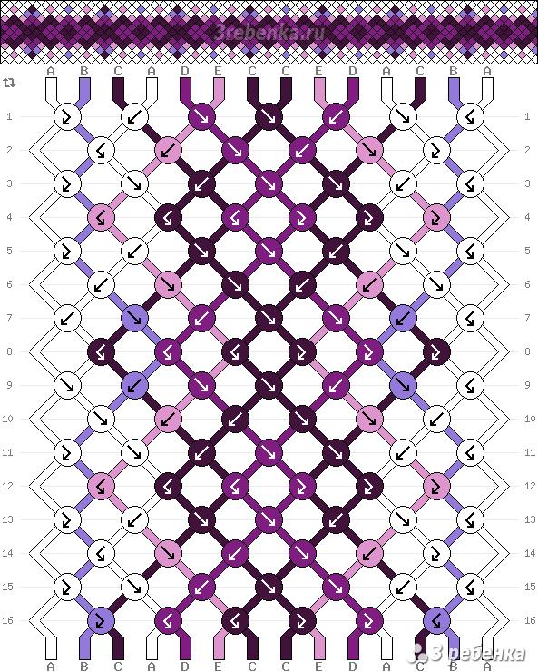 Схема фенечки 22263