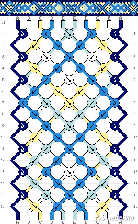 Схема фенечки 22448