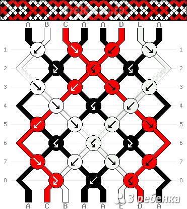 Схема фенечки 22623