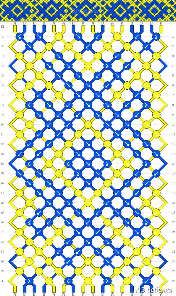 Схема фенечки 22767