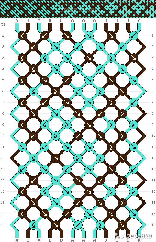 Схема фенечки 22790