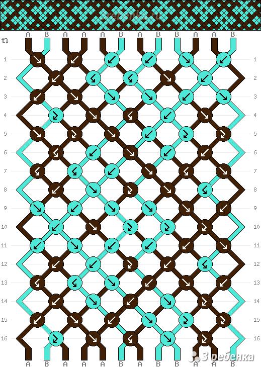Схема фенечки 22794