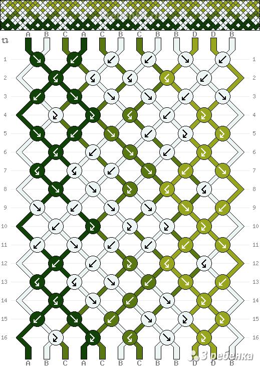 Схема фенечки 22798