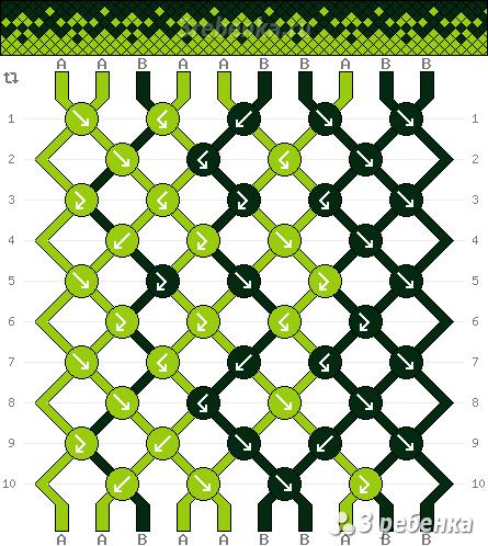 Схема фенечки 22803