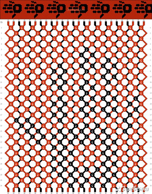 Схема фенечки 22837