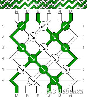 Схема фенечки 22875