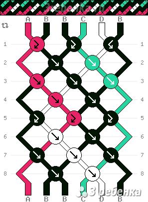 Схема фенечки 22886
