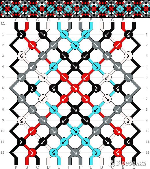 Схема фенечки 22908