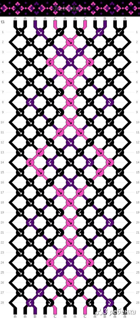 Схема фенечки 22920