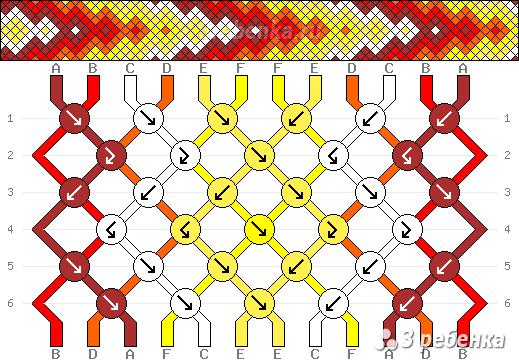 Схема фенечки 22954