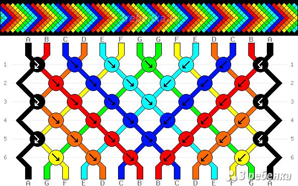 Схема фенечки 22966