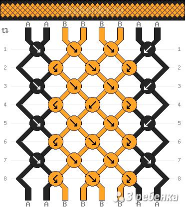 Схема фенечки 23012