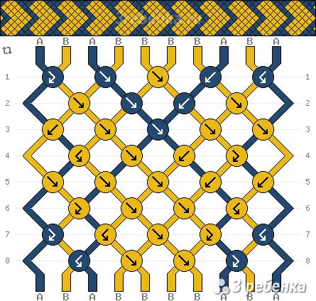 Схема фенечки 23016