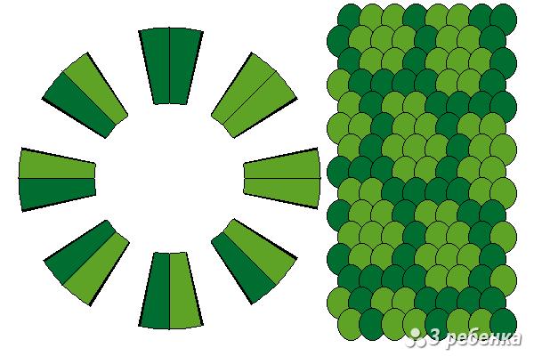 Схема фенечки кумихимо 22363