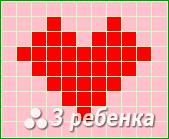 Схема фенечки прямым плетением 22733