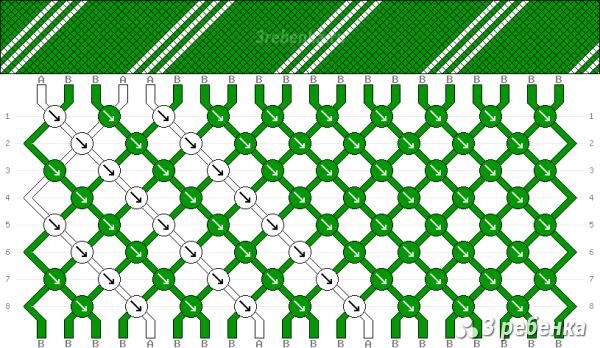 Схема фенечки 23061