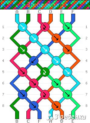 Схема фенечки 23088