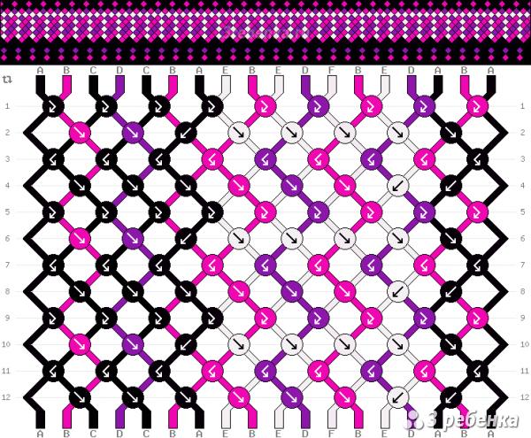 Схема фенечки 23535
