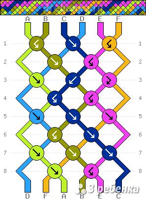 Схема фенечки 23560