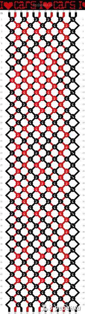 Схема фенечки 23571