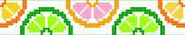 Платье Схемы фенечек из 2 цветов Металлические