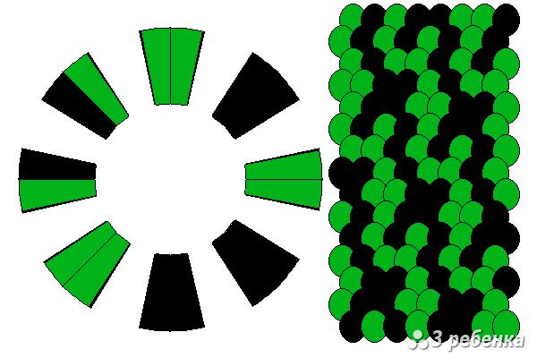 Схема фенечки кумихимо 23270
