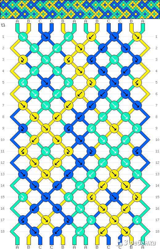 Схема фенечки 23592