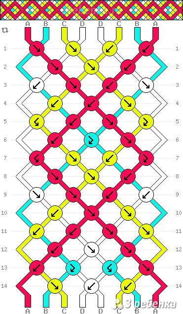 Схема фенечки 23627