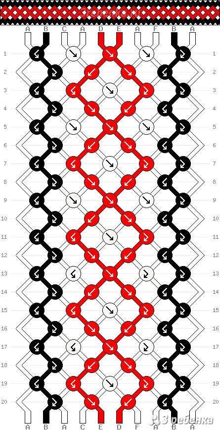 Схема фенечки 23635