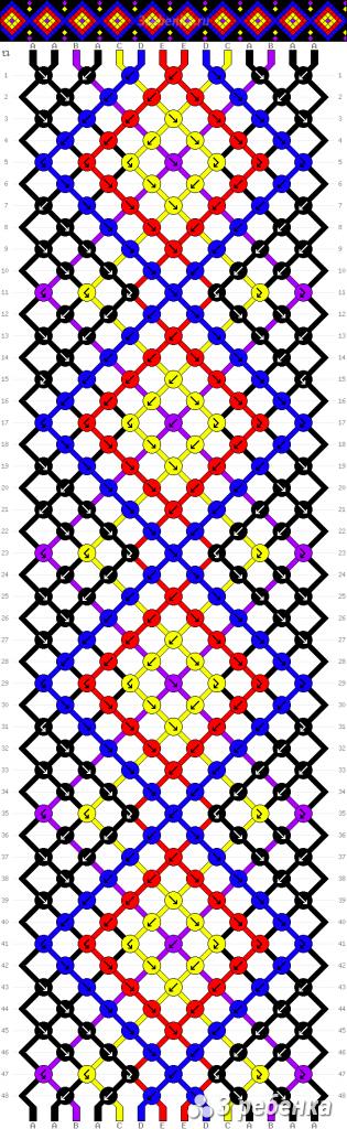 Схема фенечки 23639