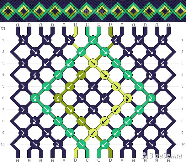 Схема фенечки 23769