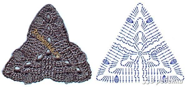 Схема вязания крючком 1