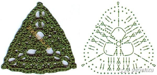 Схема вязания крючком 5