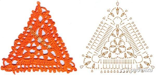 Схема вязания крючком 7