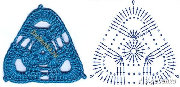 Схема вязания крючком 10