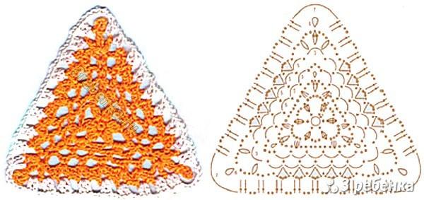 Схема вязания крючком 11