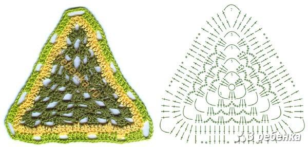 Схема вязания крючком 18