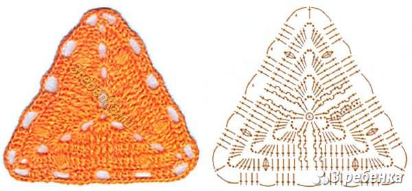 Схема вязания крючком 21