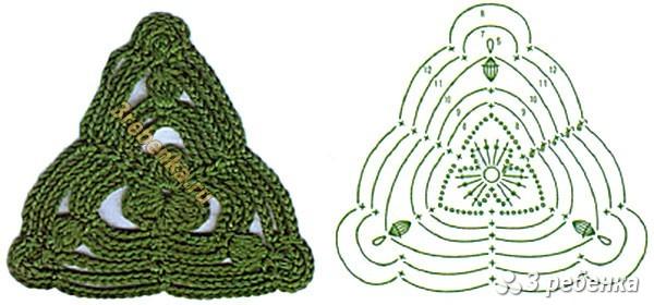 Схема вязания крючком 22
