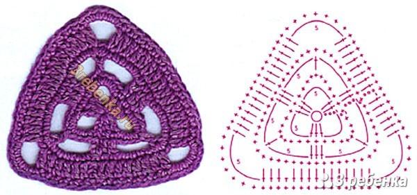 Схема вязания крючком 23