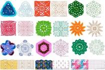 234 схем вязания крючком (лучшие узоры)