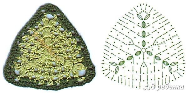 Схема вязания крючком 24
