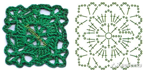 Схема вязания крючком 28