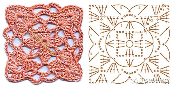 Схема вязания крючком 31