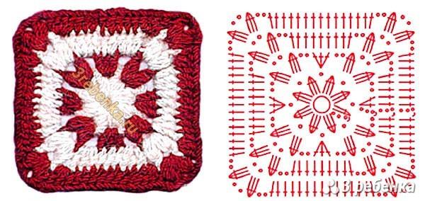 Схема вязания крючком 35