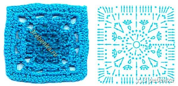 Схема вязания крючком 37