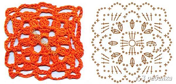 Схема вязания крючком 38