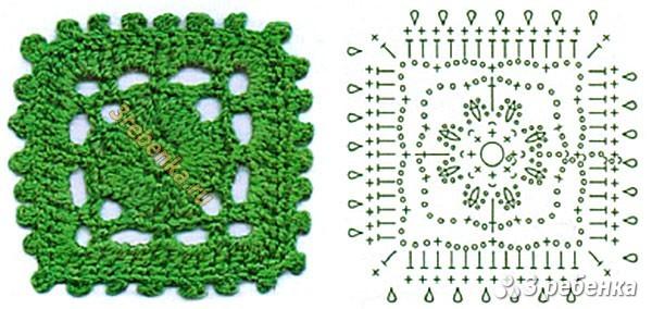 Схема вязания крючком 39