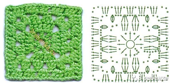 Схема вязания крючком 47